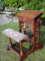 Country Oak Carved Church Lectern 1830 (Free Shipping to Mainland England)