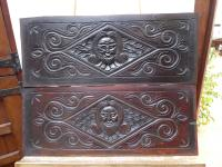 North Country Panels Carved Depicting English Gentleman 1660 (Free Shipping to Mainland England)