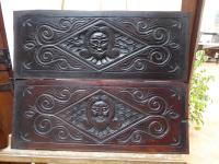 North Country Panels Carved Depicting English Gentleman 1660 (Free Shipping to Mainland England) (2 of 10)