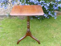 Country Oak Tilt Top Wine Table 1790 (Free Shipping to Mainland England) (4 of 8)