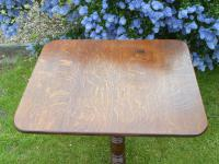 Country Oak Tilt Top Wine Table 1790 (Free Shipping to Mainland England) (3 of 8)