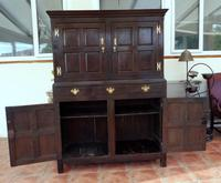 Country Oak Hall 1760 Cupboard Splits Into 2 (Free Shipping to Mainland England) (5 of 8)