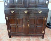Country Oak Hall 1760 Cupboard Splits Into 2 (Free Shipping to Mainland England) (8 of 8)