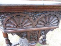 Heavily Carved Oak  Occasional Table 1800 (Free Shipping to Mainland England) (6 of 9)