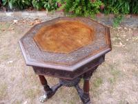 Heavily Carved Oak  Occasional Table 1800 (Free Shipping to Mainland England) (9 of 9)
