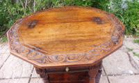 Country Oak Occasional Table Extends 1660 (Free Shipping to Mainland England) (6 of 9)