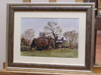 Watercolour & Ink Dedham Colchester Listed Artist Ronald Birch (3 of 8)