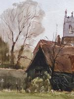 Watercolour & Ink Dedham Colchester Listed Artist Ronald Birch (4 of 8)