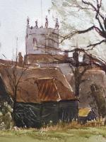 Watercolour & Ink Dedham Colchester Listed Artist Ronald Birch (5 of 8)