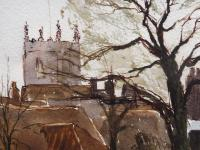 Watercolour & Ink Dedham Colchester Listed Artist Ronald Birch (6 of 8)