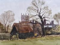 Watercolour & Ink Dedham Colchester Listed Artist Ronald Birch (7 of 8)