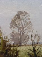 Watercolour & Ink Laycock Wiltshire Listed Artist Ronald Birch 1976 (Free Shipping to Mainland England) (5 of 8)