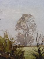 Watercolour & Ink Laycock Wiltshire Listed Artist Ronald Birch 1976 (Free Shipping to Mainland England) (7 of 8)