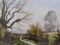 Watercolour & Ink Laycock Wiltshire Listed Artist Ronald Birch 1976 (Free Shipping to Mainland England) (8 of 8)