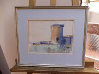 Watercolour Martello Tower Listed Artist John Powley (Free Shipping to Mainland England) (7 of 10)