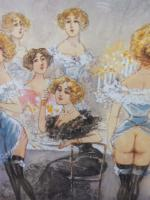 6 Risque Prints of Naughty Ladies (Free Shipping to Mainland England) (7 of 10)