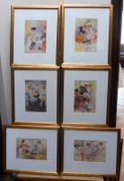 6 Risque Prints of Naughty Ladies (Free Shipping to Mainland England) (10 of 10)