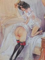 6 Risque Prints of Naughty Ladies (Free Shipping to Mainland England) (3 of 10)