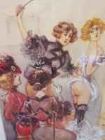 6 Risque Prints of Naughty Ladies (Free Shipping to Mainland England) (2 of 10)