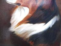 Oil on Canvas Study of a Dog Listed Artist Collin Graeme Roe 1890 (Free Shipping to Mainland England) (3 of 10)