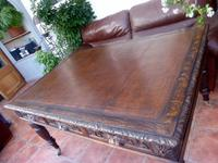 Country Oak Edwards & Roberts Partners Desk (Free Shipping to Mainland England) (3 of 8)