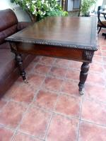 Country Oak Edwards & Roberts Partners Desk (Free Shipping to Mainland England) (5 of 8)