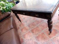 Country Oak Edwards & Roberts Partners Desk (Free Shipping to Mainland England) (6 of 8)