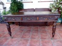 Country Oak Edwards & Roberts Partners Desk (Free Shipping to Mainland England) (8 of 8)