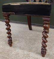 Early Victorian High-Back Barley Twist Hall Chair (2 of 8)