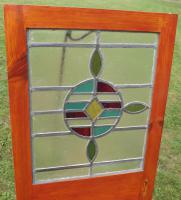 Pair of Victorian Leaded Stained Glass Windows (2 of 4)
