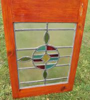 Pair of Victorian Leaded Stained Glass Windows (3 of 4)