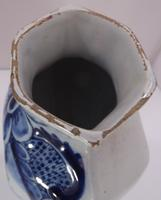 Pair of 19th Century Delft Pottery Blue & White Vases (6 of 8)