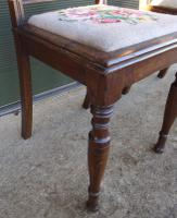 Pair of Antique Victorian Oak Hall Chairs (4 of 8)