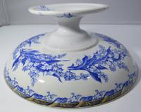 19th Century Terre De Fer Ceramic Tazza Serving Dish (3 of 7)