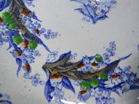 19th Century Terre De Fer Ceramic Tazza Serving Dish (7 of 7)