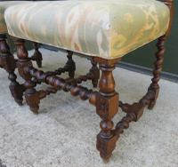 Pair of Victorian Carved Oak Hall Chairs (5 of 7)