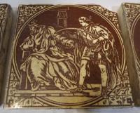 Set of 6 Victorian Minton, Hollins & Co. Biblical Tiles C.1880 (7 of 12)