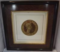 Hubert Goltzius Chiaroscuro Portrait Woodcut of Julius Caesar