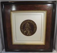 Hubert Goltzius Chiaroscuro Portrait Woodcut of Charles V