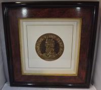 Hubert Goltzius Chiaroscuro Portrait Woodcut of Henry V
