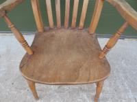 Victorian Slat-Back Country Kitchen Armchair (2 of 8)