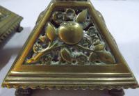Pair of Vintage Brass Decorative Candlesticks (3 of 5)