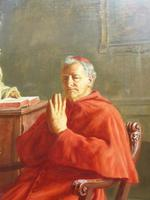 Large Oil Portrait Painting of a Cardinal by Ernst Stierhof (7 of 7)