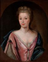 Large 18th Century Oil Portrait of a Lady Manner of Michael Dahl (2 of 3)