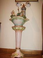 Porcelain Jardinaire Water Feature Lamp (2 of 5)