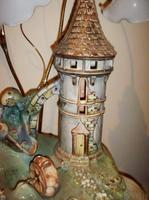 Porcelain Jardinaire Water Feature Lamp (3 of 5)