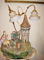 Porcelain Jardinaire Water Feature Lamp (5 of 5)