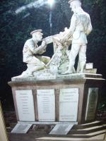 WW1 Vintage Photograph of Great War 1914-1918 Monument (Roll of Honour) West Hallam