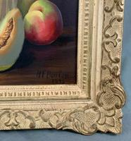 Still Life Fruit Oil Painting in Gallery Frame (6 of 6)