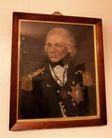 Admiral Lord Horatio Nelson Oil Portrait Painting After Lemuel Francis Abbott